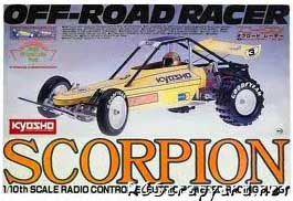 Kyosho Scorpion origional Box
