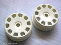 Kyosho Inferno MP9 White Slotted Wheels