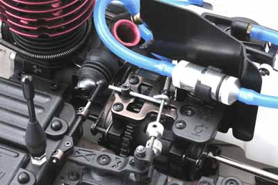Kyosho Inferno ST-RR EVO Throttle and Brake Linkage