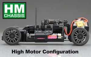 Kyosho Mini-Z HM Chassis Layout