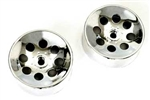 KYOBL9MS Kyosho Blizzard SR Chrome Wheel - Package of 2