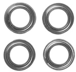 KYOBRG004 Kyosho Bearing 8x14x4 Metal Shield - Package of 4