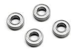 KYOBRG006TS Kyosho Fluorine Shielded 6X12X4 bearings - Package of 4