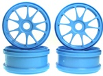 KYOIFH002BL Kyosho 10 Spoke Wheels Blue