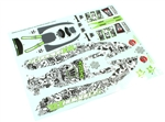 KYOSXD101 Kyosho Scorpion XXL Decal Sheet