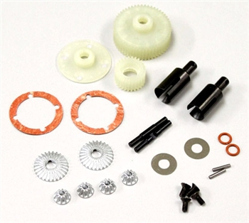 KYOUMW604 Kyosho Ultima Viscus Gear Differential Conversion Set