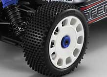Kyosho Inferno VE  Race Spec Tires and Wheels