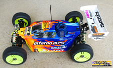 Jerome Aigoin Kyosho Inferno MP9 13
