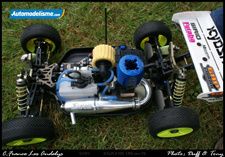 Jerome Aigoin Kyosho Inferno MP9 9