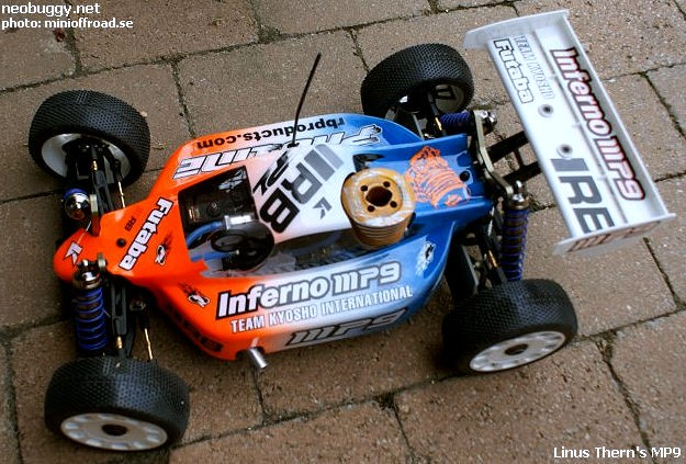 Linus Thern Kyosho Inferno MP9