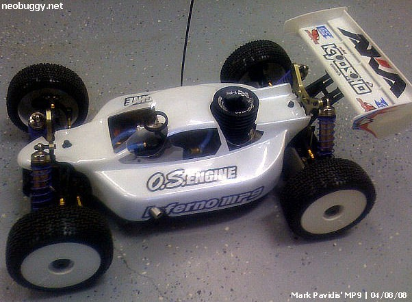 Mark Pavidis Kyosho Inferno MP9