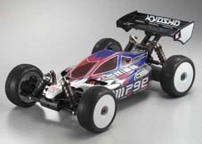 Kyosho Inferno MP9E Brushless Buggy with Body Front\