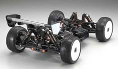 Kyosho Inferno MP9E Brushless Buggy Rear Suspension View