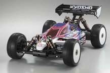 3 Kyosho Inferno MP9E Brushless Buggy with Body Front