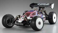 Kyosho Inferno MP9E Brushless Buggy with Body Front