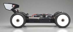 Kyosho Inferno MP9E Brushless Buggy Right Side View