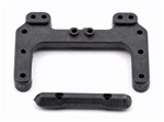 Associated B4/T4 Rear Chassis Brace & Front Hinge Pin Brace