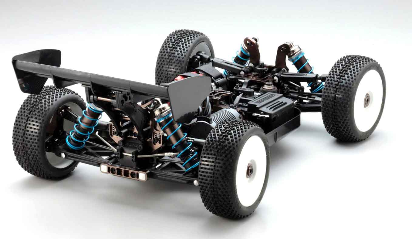 Kyosho Inferno MP9e TKI Rear Shot