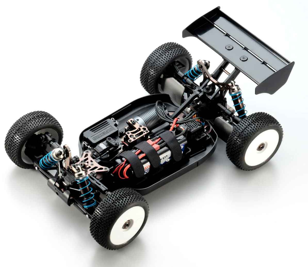 Kyosho Inferno MP9e TKI High Chassis Shot
