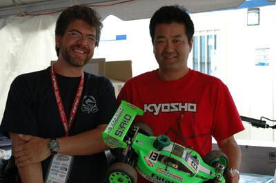 Yuuichi Kanaii and Trevor