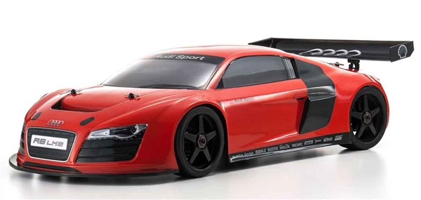 KYOB Kyosho Inferno GT Race Spec Red Audi R LMS Readyset - Red audi r8
