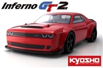 KYO33008B Kyosho Inferno GT2 Dodge Challenger SRT DEMON 2018 SPEC 1/8 GP 4WD RS