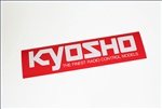 KYO87002 Kyosho Logo Sticker Small Size 106mm x 35mm