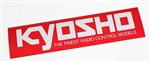 KYO87004 Kyosho Logo Sticker Large 360mm x 90mm