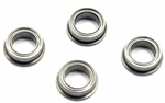 "KYOBRG303 Kyosho 1/4"" x 3/8"" Flanged Ball Bearing - Package of 4"