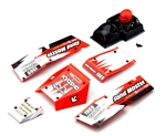 KYOEZ005R Kyosho Sand Master Red Body Set
