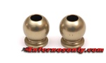 KYOIF461H Kyosho Inferno MP9 6.8mm Flanged Hard Anodized 7075 Aluminum Balls - Package of 2