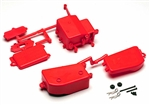 KYOIFF001KR Kyosho Inferno MP9 Red Battery & Receiver Box Set