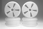 Kyosho Dish Wheels - White