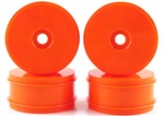 KYOIFH004KO Kyosho Inferno MP9 Dish Wheels Larger Diameter Orange - Package of 4