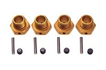 KYOIFW107G Kyosho Wheel Hubs 17mm, Pins and Set Screws