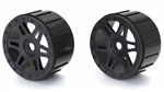 KYOISH111BK Kyosho Inferno NEO ST Wheel in Black - Package of 2