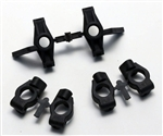 KYOLA371 Kyosho Lazer ZX6 Knuckle and Hub Carrier Set 7 and 10 Deg.