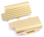 KYOMBW014G Kyosho Mini-Z Buggy Aluminum Heatsink Battery Holder Set - Gold anodized