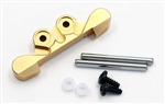 KYOMBW025G-0 Kyosho Mini-Z Buggy Gold Anodized Aluminum 0 Degree Front Suspension Mount