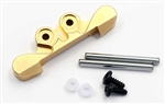 KYOMBW025G-1 Kyosho Mini-Z Buggy Gold Anodized Aluminum 1 Degree Front Suspension Mount