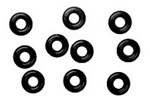 KYOORG03BK Kyosho O-rings Black - Package of 10