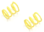 KYOPZW003H Kyosho Plazma Hard Yellow King Pin Spring 0.45mm - Package of 2