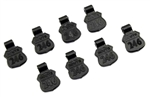KYOR246-9003 Kyosho Rubber Body Pin Pull - Package of 8