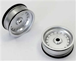KYOSXH001S Kyosho Scorpion XXL Front Wheel Silver - Package of 2