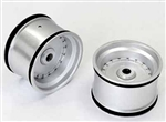 KYOSXH002S Kyosho Scorpion XXL Rear Wheel Silver - Package of 2