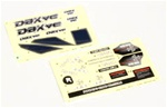 KYOTRD351 Kyosho DBX VE Decal Sheet