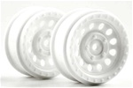 KYOTRH111W Kyosho White Wheel DRT - Package of 2