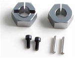 "KYOTRW156 Kyosho Titanium Wheel Hubs for ""D"" Series - Package of 2"