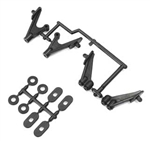 KYOUM709 Kyosho Lazer Ultima RB6 RT6 Wing Stay Set, Body Mount Set