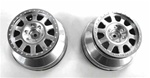 KYOUMH601S Kyosho Ultima SC Silver Wheels - Package of 2